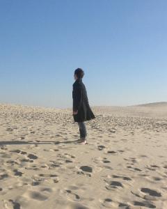 ピラ砂丘にて