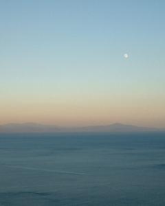 イタリア公演にてアマルフィ海岸の景色